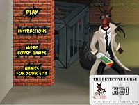 Игра Лошадь - детектив