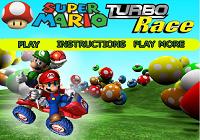 Игра Супер гонка Марио