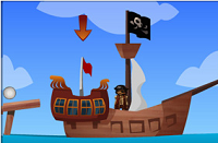 Игра Pirate Golf Adventure