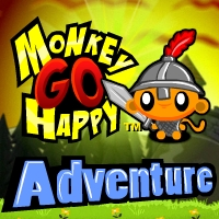 Игра - Monkey go Happy