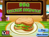 Игра Барбекю сендвич из курицы