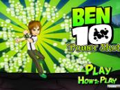 Игра Бен 10 сильный удар