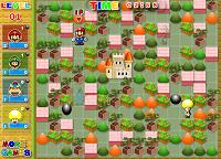 игра Бомбермен Марио