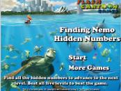 Игра В поисках Немо - скрытые номера