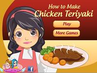 Игра Готовить курицу терияки