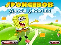 Игра Губка Боб - Стрельба из лука