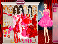 Игра День Святого Валентина у Барби