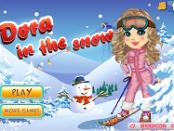Игра Дора зимой