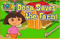 Игра Дора спасает ферму