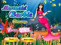 Игра Наряди русалку Барби