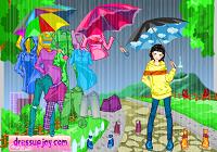 Игра Наряд для дождливого дня