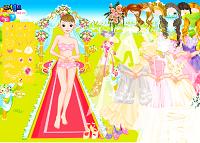 Игра Одень невесту