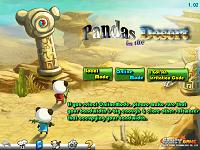 игра Панда в пустыне