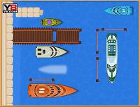 игра Парковка лодки