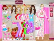 Игра Пижама-вечеринка Барби