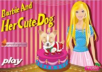 Игра Прекрасная собачка Барби