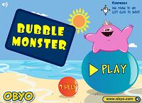 Игра Пузырьковый монстр