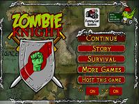 Игра Зомби Рыцари