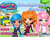 игра Самые модные девчонки в школе