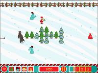 Игра Санта-защитник