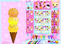 Игра Сделай мороженное