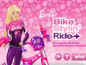 Игра Стильная гонка Барби