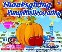 игра Тыква на День благодарения