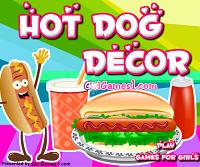 Игра Укрась хот-дог