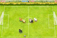 Игра Футбол с животными