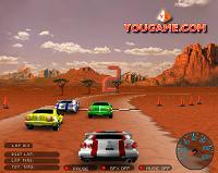 Игра 3D Car Racing Deluxe