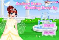 игра Ancient Rome Wedding Dress Up