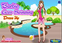 Игра Barbie Goes Swimming