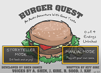 Игра Burger Quest
