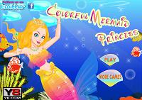 игра Colorful Mermaid Princess