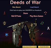 Игра Deeds of War RPG
