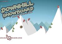 Игра Downhill Snowboard