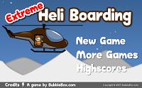 Игра Extreme Heli Boarding