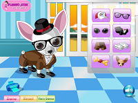 игра Fleego Doggy DressUp