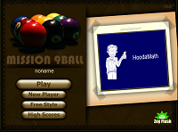 Игра Mission 9 Ball