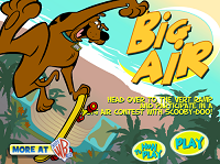 Игра Scooby Doo Big Air