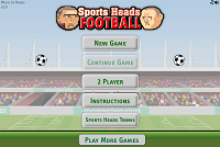 Игра Sports Heads Football
