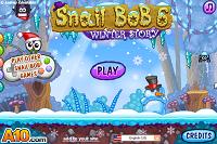 игра Snail Bob 6 Winter Story (Улитка Боб 6 Зимняя сказка)