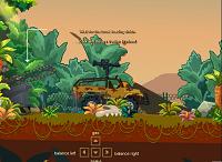 игра Тележка от динозавра