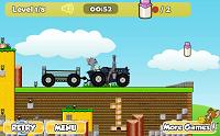 игра Том и Джери на тракторе 2