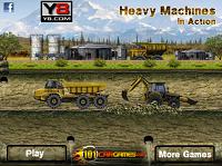 игра Тяжелые машины