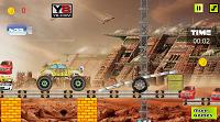 игра 3D Сумасшедший грузовик