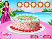 игра Барби кокосового торта Deco