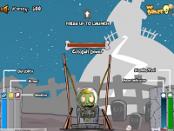 игра Зомби Летят на Луну