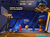 игра Космический баскетбол (Space Ball Cosmo Dude)
