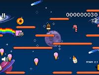 игра Ньян Cat Затерянные в космосе